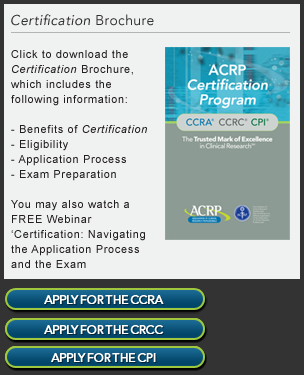 Download Certification Brochure