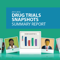 FDA's Drug Trial Snapshots Report