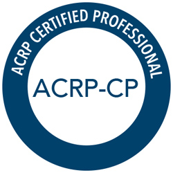 ACRP Certified Professional